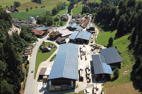 Betrieb Birrer Holz AG | Sägerei im Napf