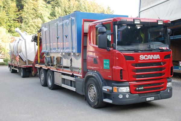 Birrer Holz AG | Transporte | Anhängerzug 2